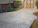 Stamped Concrete Driveway by Glavas Concrete Salem, Roanoke, Blacksburg, Lynchburg