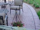Stamped Concrete Patio by Glavas Concrete Salem, Roanoke, Blacksburg, Lynchburg